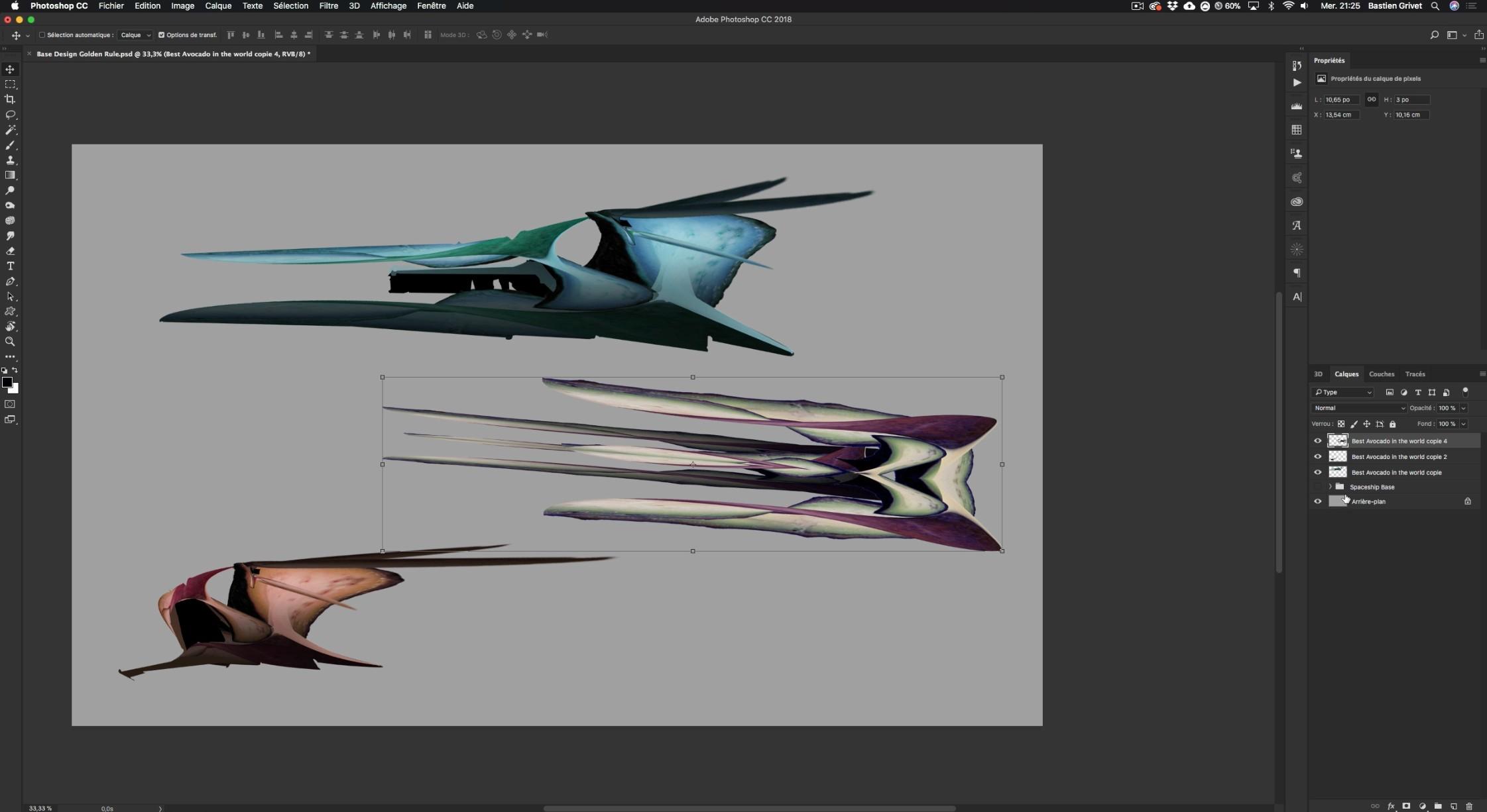 TUTO Spaceship Design : L'approche simplifiée avec Photoshop CC sur Tuto com