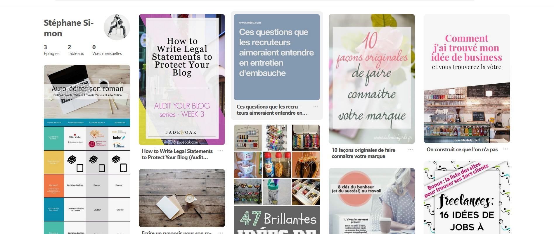 Tuto Gratuit Vos Premiers Pas Sur Pinterest Avec Reseaux Sociaux