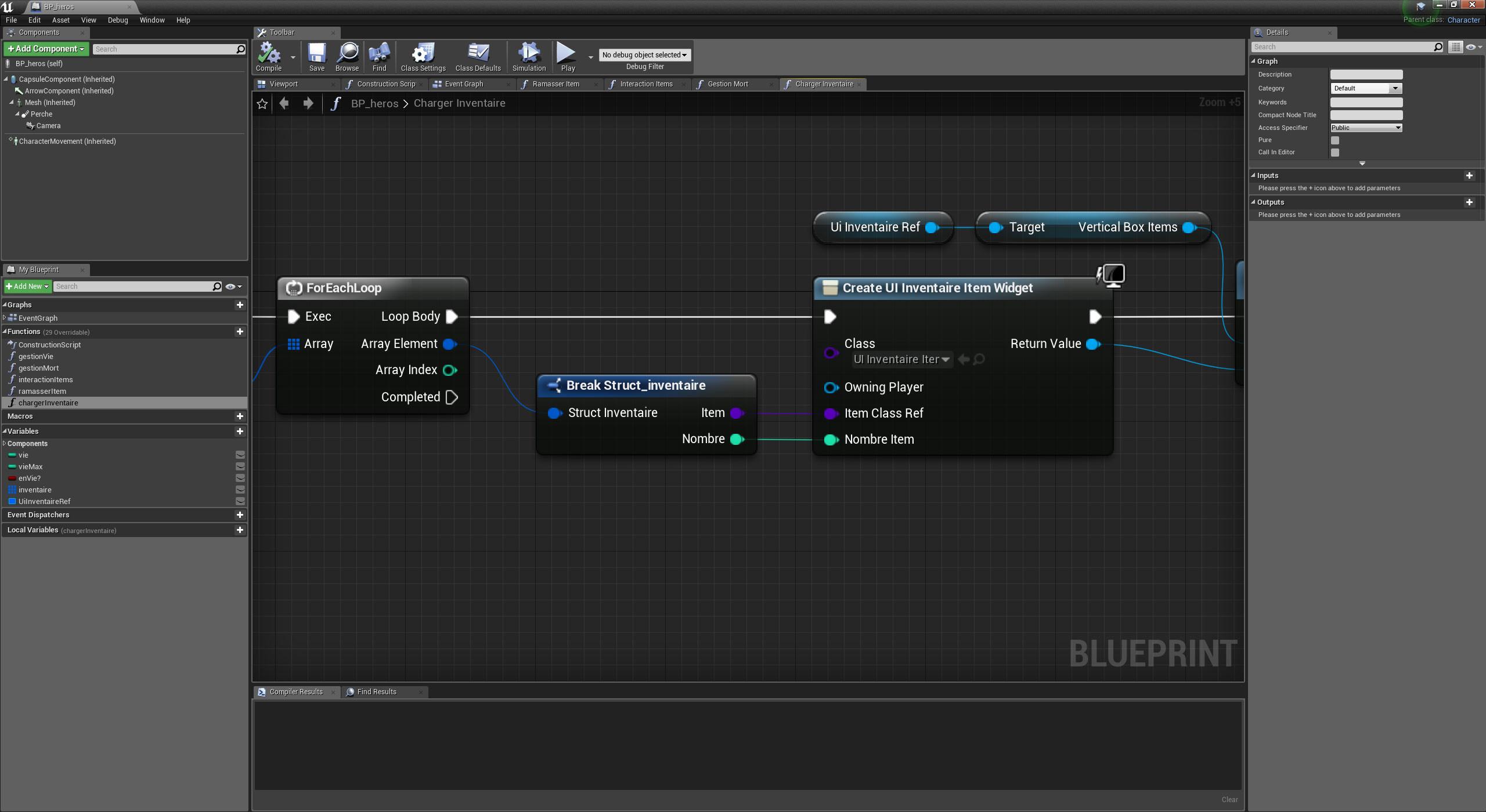 TUTO Création d'un RPG avec Unreal Engine - Formation Year One avec Unreal  Engine sur Tuto com