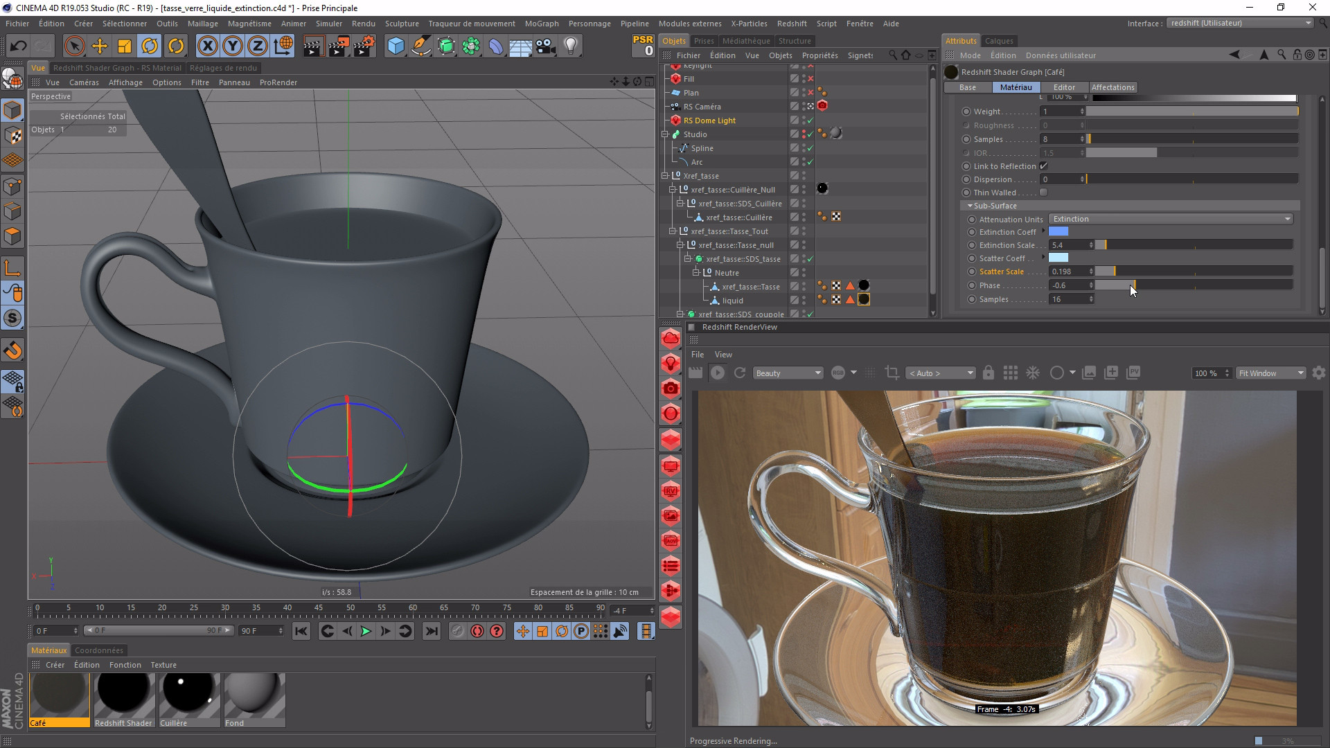 TUTO Redshift 3D : la Formation Complète avec Cinema 4D 19 sur Tuto com