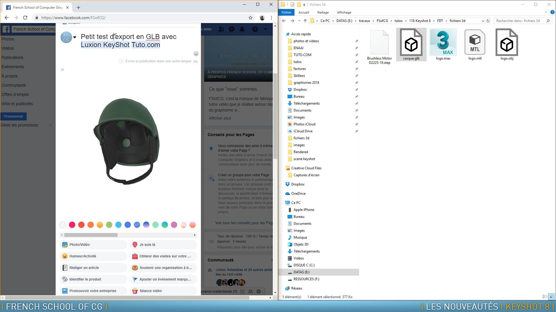 TUTO Les nouveautés de Keyshot 8 avec KeyShot sur Tuto com