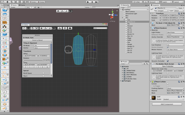 TUTO La modélisation 3D sous Unity avec Pro Builder avec Unity 2018 sur  Tuto com