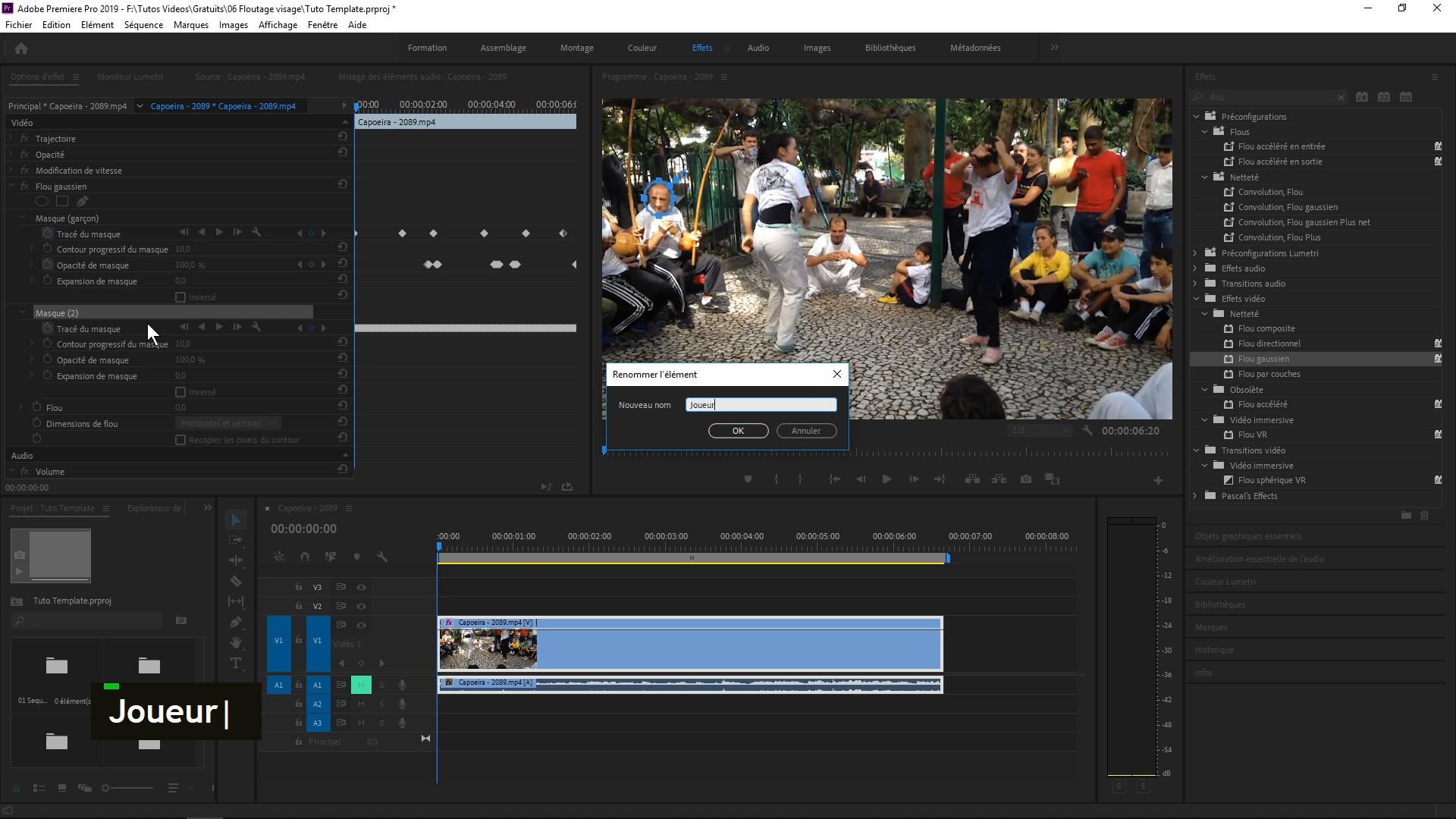 Tuto Gratuit Comment Flouter Des Visages Avec Premiere Pro Cc Avec Premiere Cc Sur Tutocom