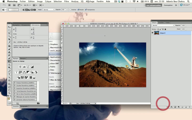 Tuto donner un effet r tro la instagram avec photoshop for Effet miroir photoshop cs5