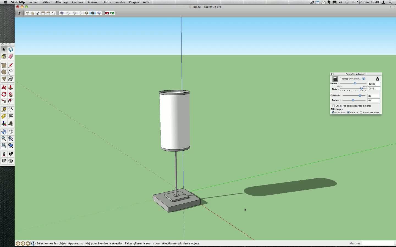 Créer Une En Sur Tuto Avec 3d Lampe 8 Sketchup WIDH92beEY