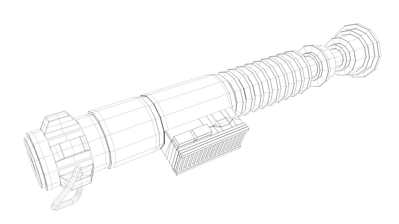 Tuto cinema 4d mod lisation d 39 un sabre laser avec cinema 4d 13 sur - Dessin de sabre ...