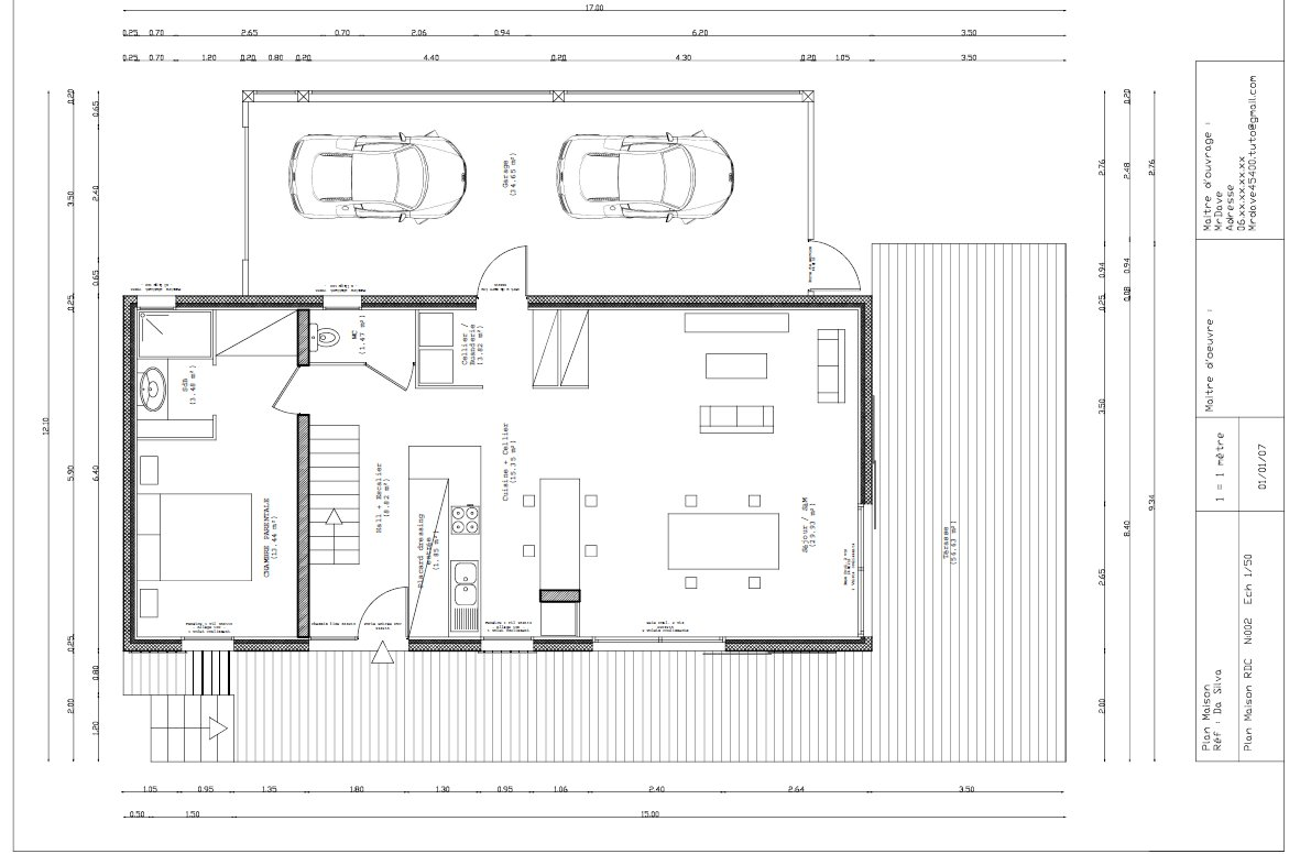 tuto draftsight fondamentaux et cr ation plan architectural avec draftsight sur. Black Bedroom Furniture Sets. Home Design Ideas