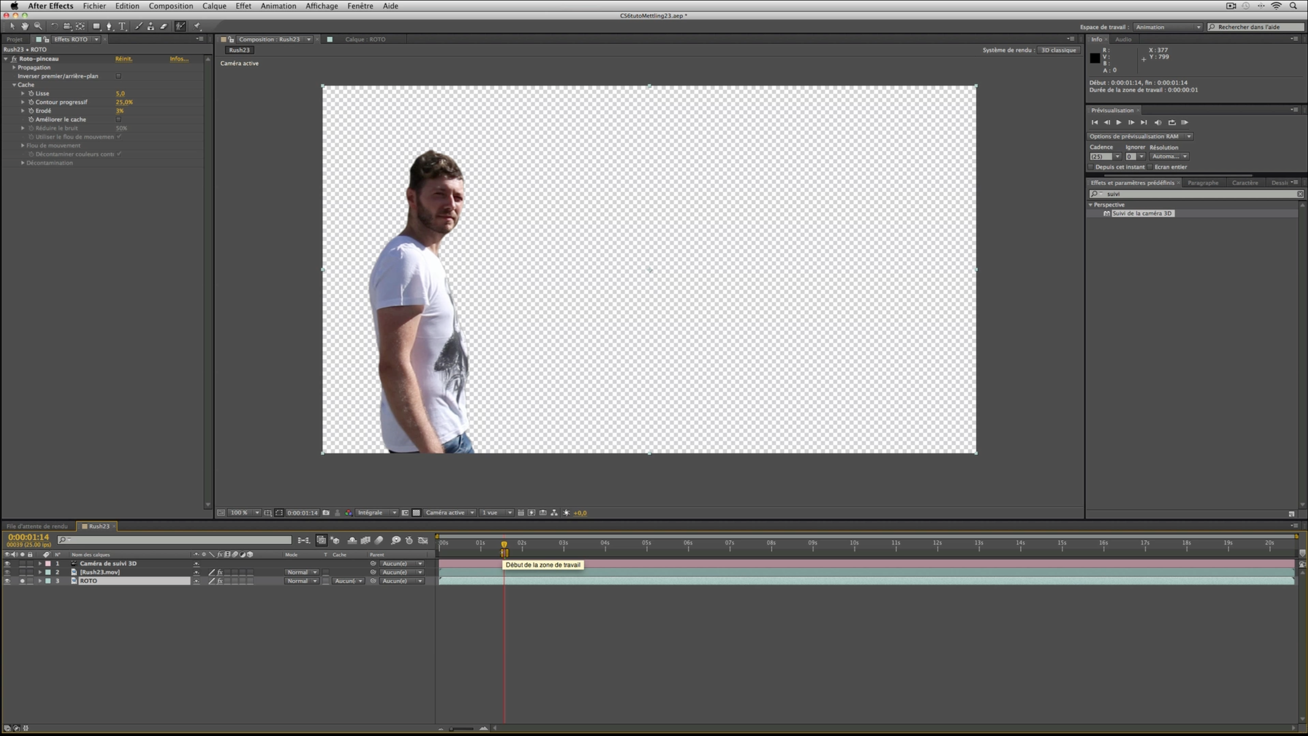 how to add an image to tracking in after effects