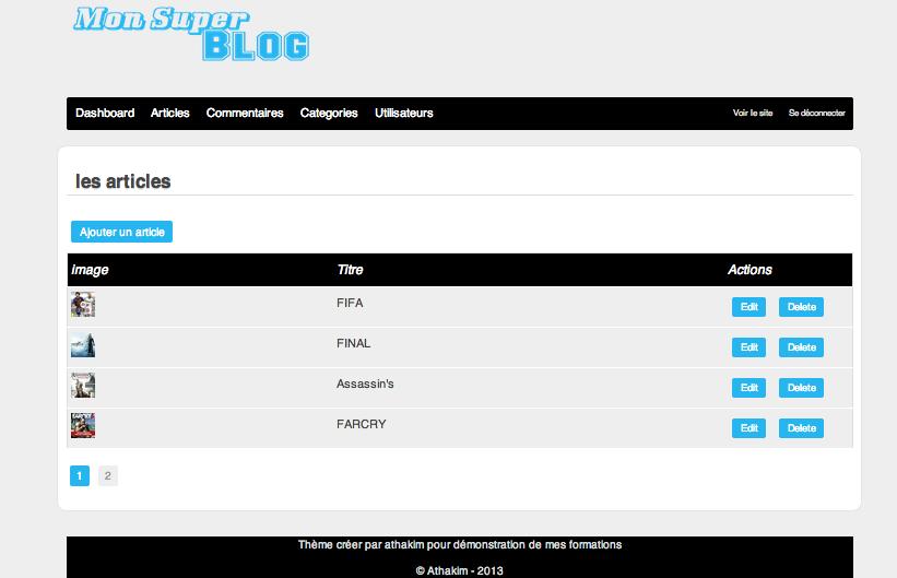 tuto cr u00e9er un site de a  u00e0 z en php  blog et administration  avec php 5 4 sur tuto com