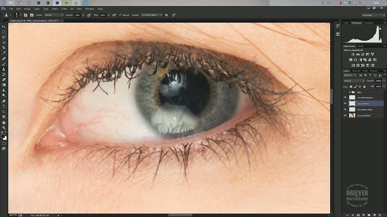 Astuce photoshop : corriger et modifier une teinte ...