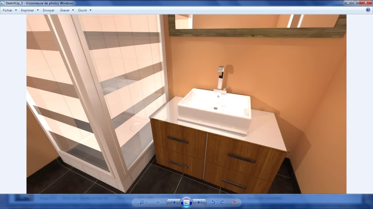 composant salle de bain sketchup. Black Bedroom Furniture Sets. Home Design Ideas