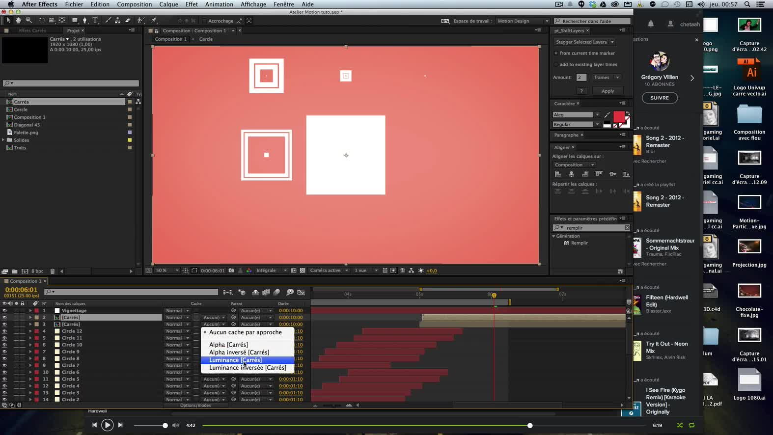 tuto motion design atelier n u00b01   sublimer simplement avec after effects cc sur tuto com