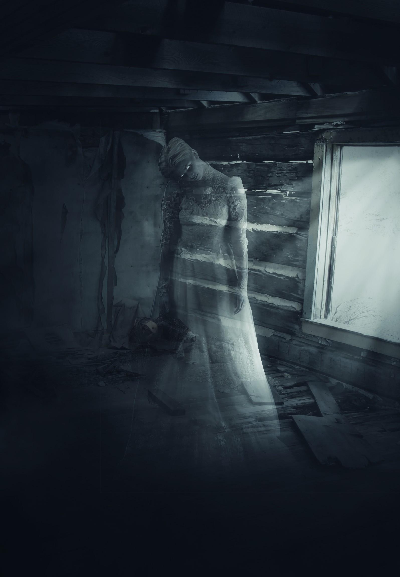 Tuto photomontage photoshop cr ation d 39 un fant me avec photoshop cc sur - Dessiner un fantome ...