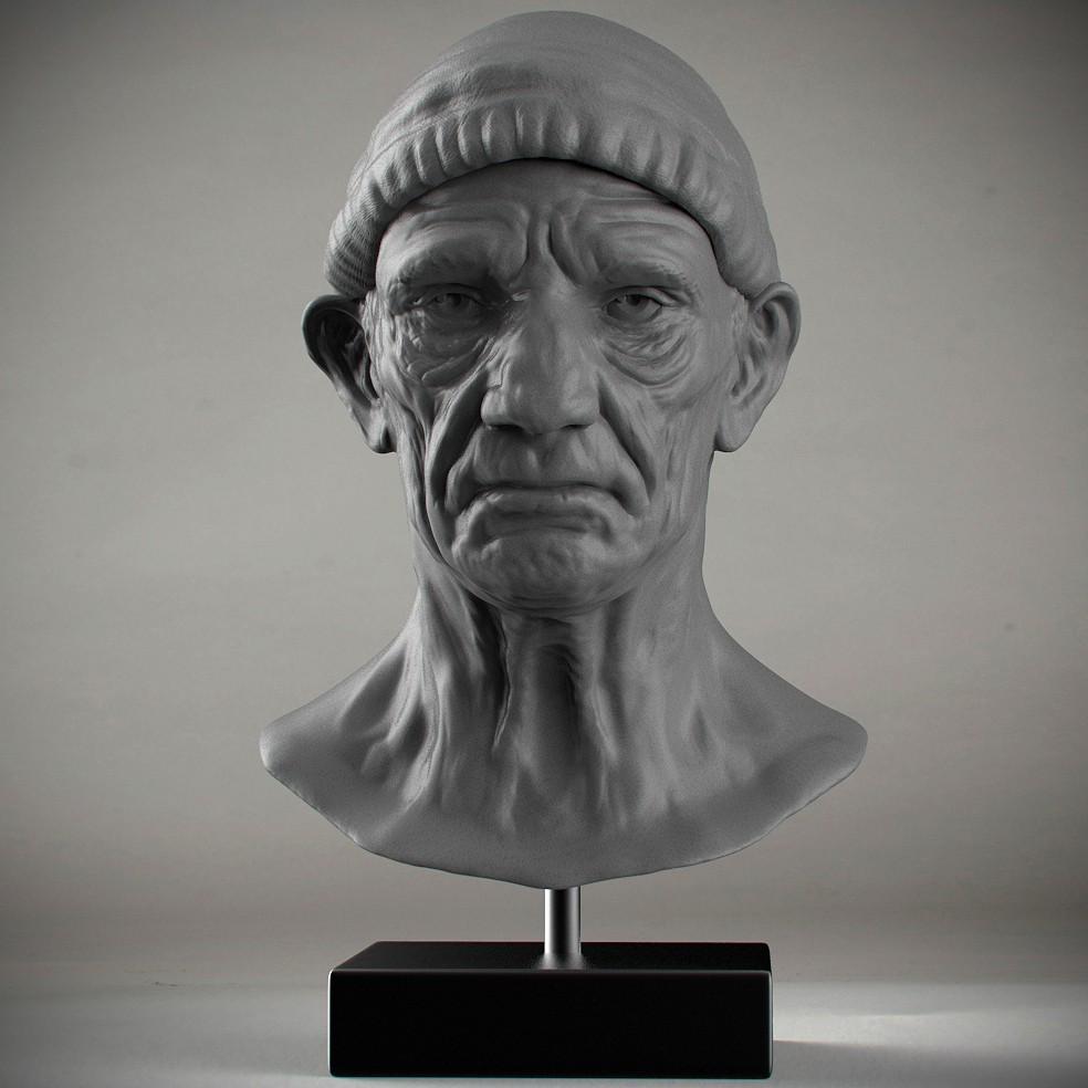 Gut gemocht TUTO Sculpture d'un portrait ZBrush avec effet argile avec ZBrush  ZD83