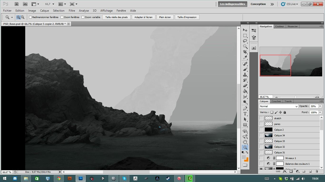 TUTO Digital Painting : Comment bien incruster ses textures avec Photoshop CS5 sur Tuto.com