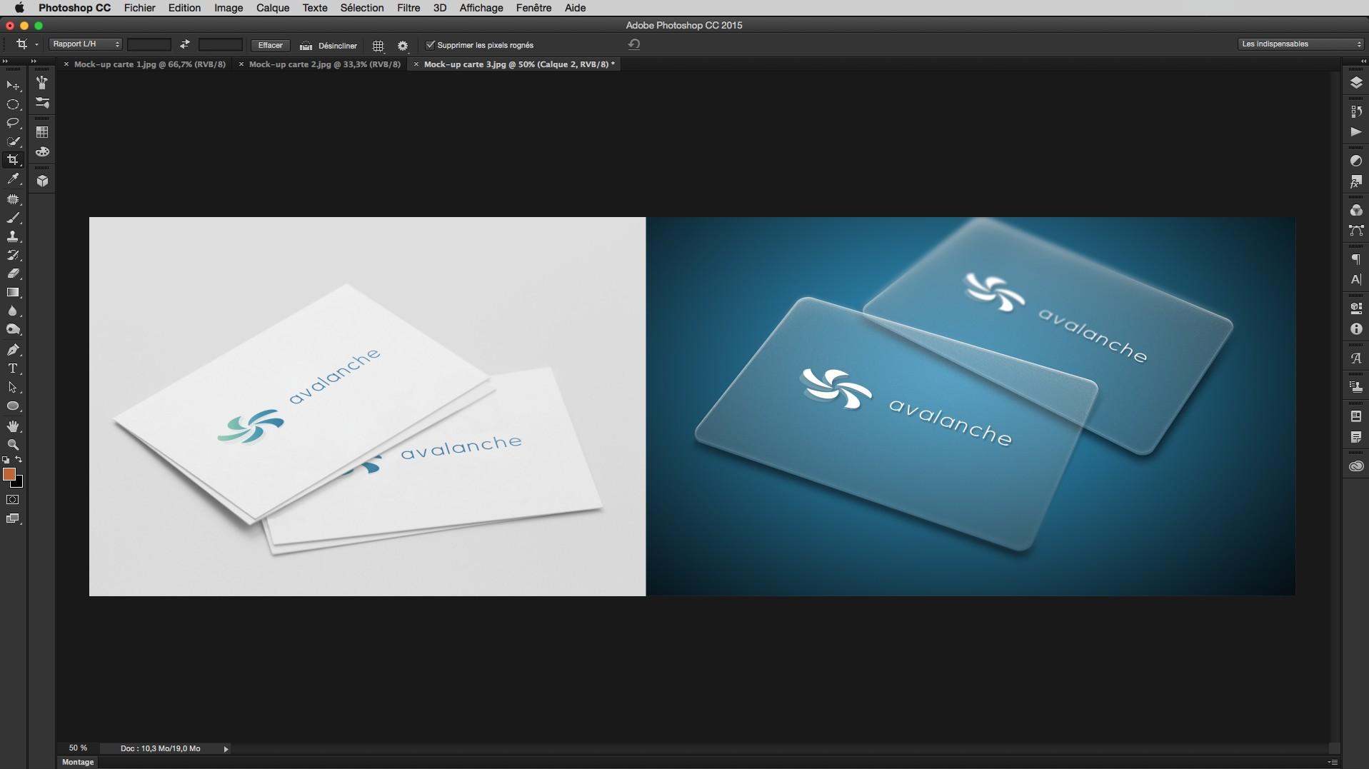 TUTO Le Logo La Demarche Creative Complete Avec Photoshop CC Sur