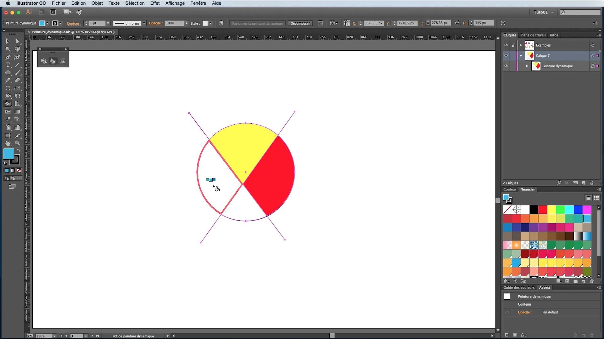 Tuto La Peinture Dynamique Avec Illustrator Avec Illustrator Cc Sur