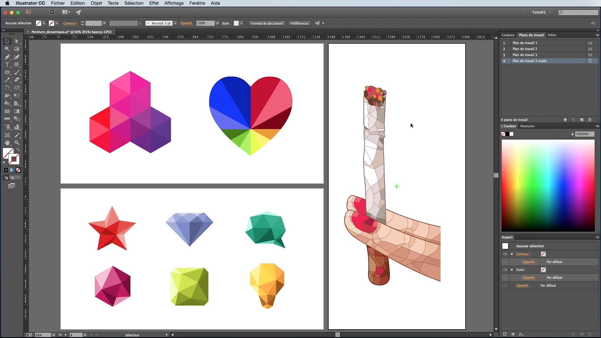 exercice illustrator cs6 gratuit pdf
