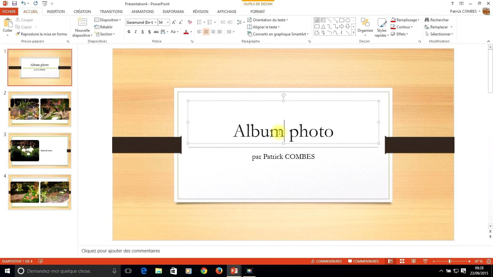 tuto powerpoint 2013
