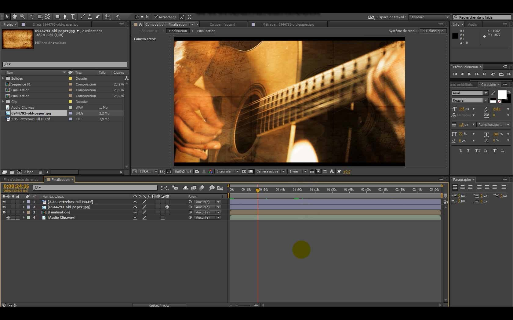 how to add after effect clip to premierpro