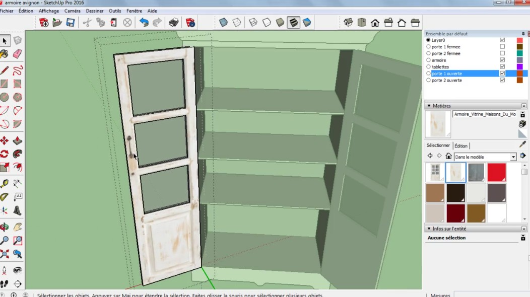 tuto sketchup mod lisez d 39 apr s une photo avec sketchup 2016 sur. Black Bedroom Furniture Sets. Home Design Ideas