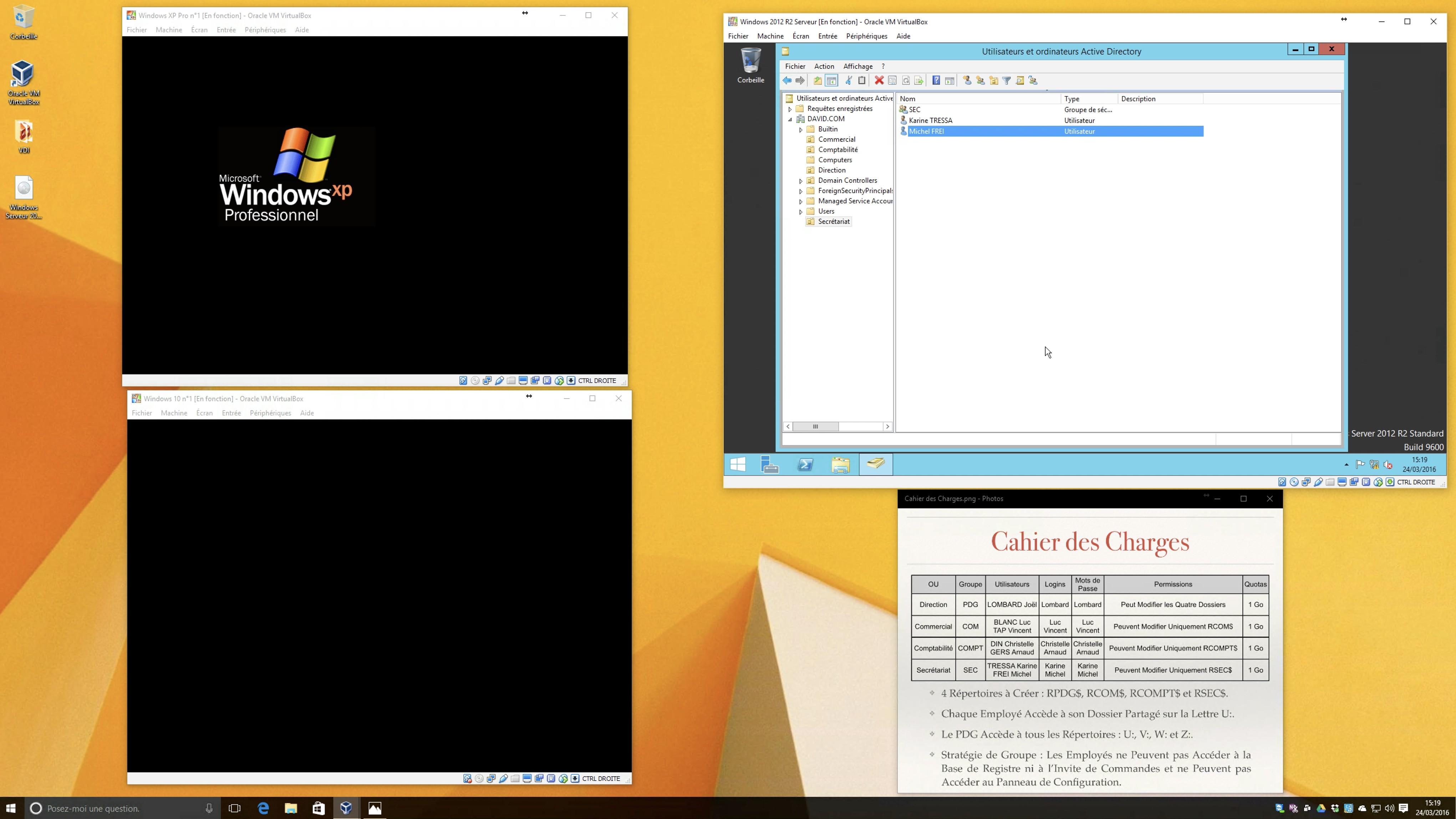 TUTO Administration Windows Server 2012 R2 avec Windows Server sur Tuto com