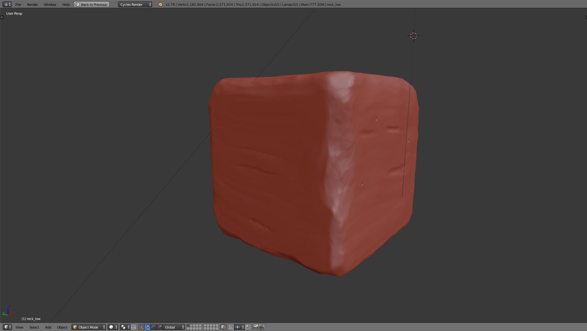 TUTO Blender : Créer un set de texture à partir d'un sculpt complexe avec Blender 2.7 sur Tuto.com