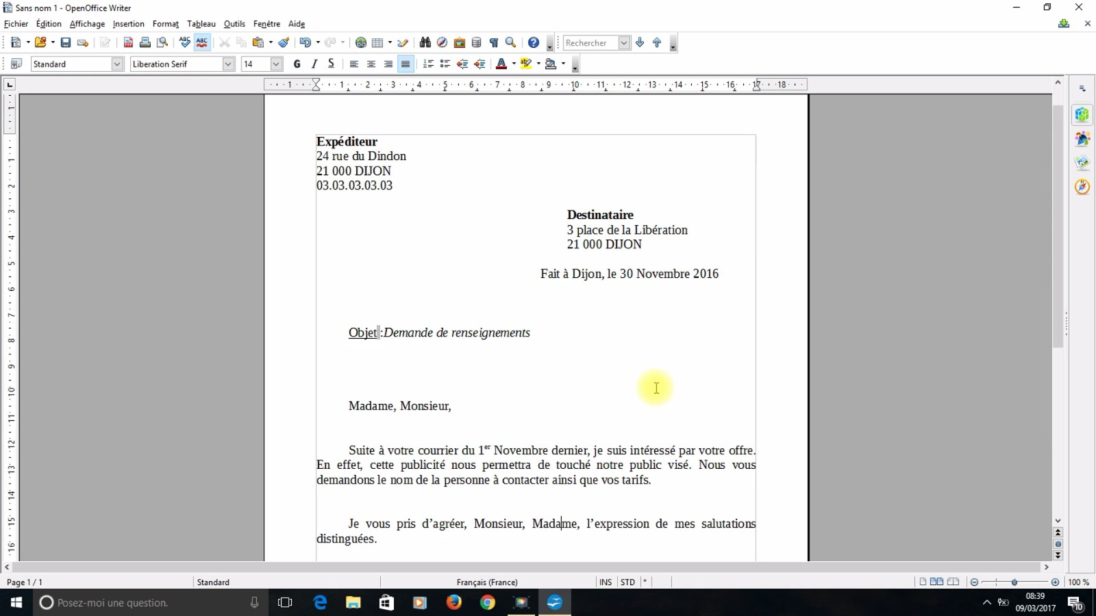 comment modifier un document pdf avec open office