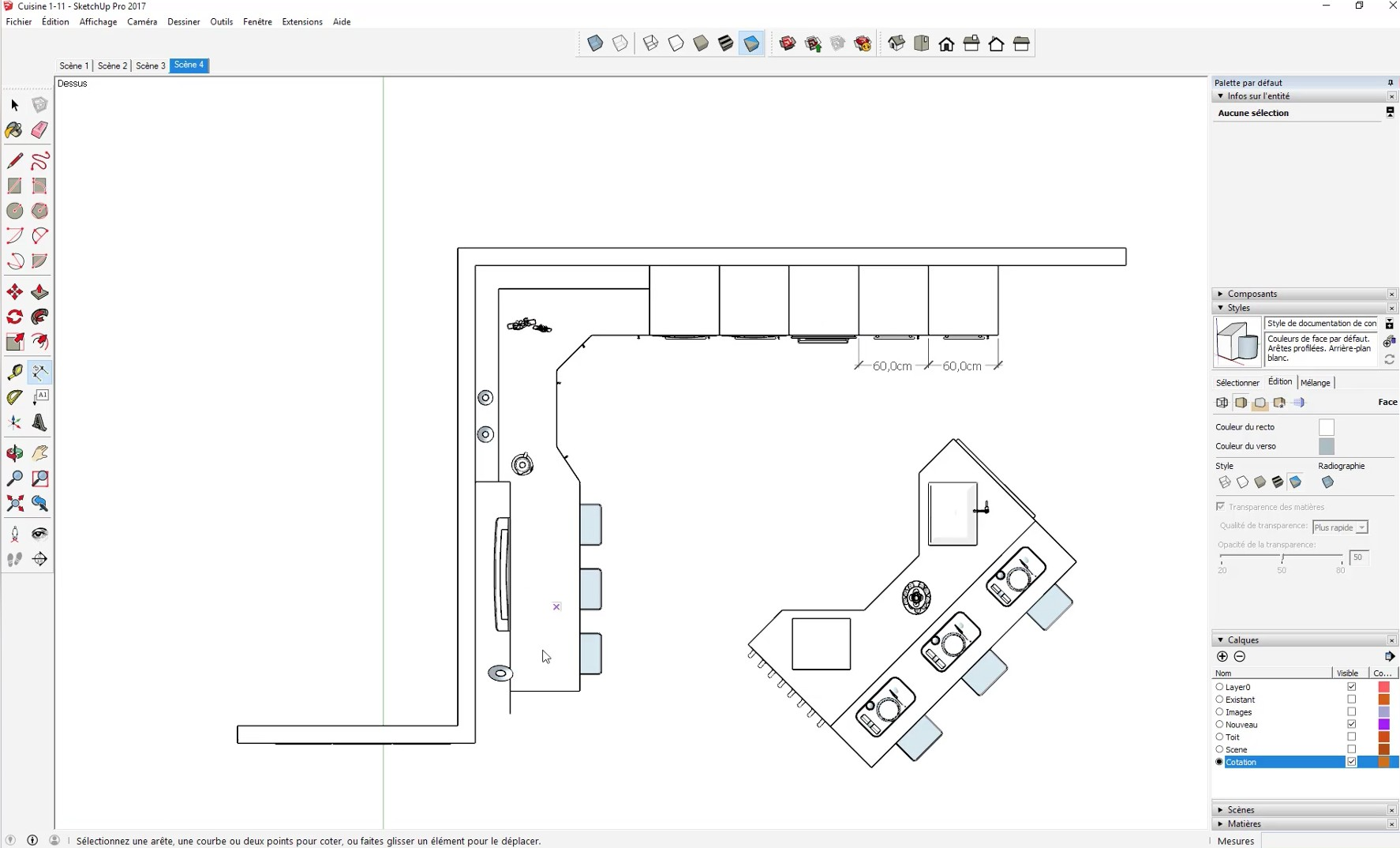 Dessiner un plan de cuisine best dessiner un plan de for Dessiner un plan