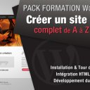 PACK FORMATION WORDPRESS : Créer un site Web Complet