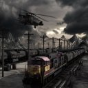 MAD TRAIN avec Element 3D V2
