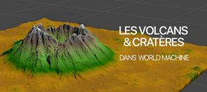 Tuto Les volcans dans World Machine World Machine