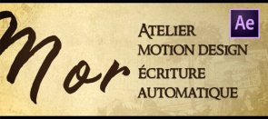 Tuto Atelier Motion Design - écriture manuscrite After Effects