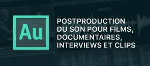 Tuto Adobe Audition : La postproduction du son pour films, documentaires, interviews et clips Audition