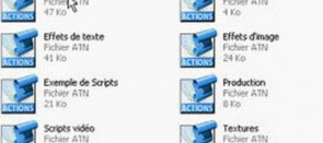 Tuto Installer un ensemble de scripts Photoshop