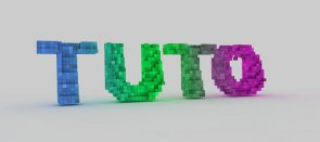 Tuto Destruction d'un objet en pixels Cinema 4D