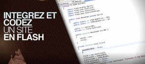 Tuto Formation ActionScript : coder un site full flash Flash