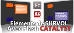 Tuto Animer des Bulles d'Informations au Survol d'objets Flash Catalyst