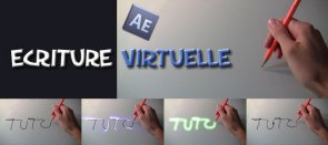Tuto Ecriture virtuelle After Effects