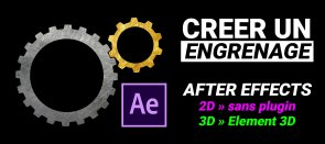 Tuto Créer un engrenage dans After Effects After Effects