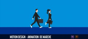 Tuto Animation de marche After Effects