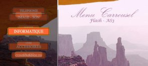 Tuto Menu carrousel en Flash ActionScript