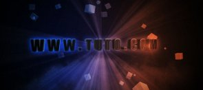Tuto Texte 3D et Compositing After Effects