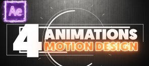 Tuto Gratuit : 4 animations Motion Design sur After Effects After Effects