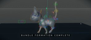 Tuto Bundle : Rigging et Animation d'un quadrupède dans Cinema 4D S22 Cinema 4D