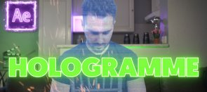 Tuto Gratuit : Effet Hologramme sur After effects After Effects