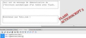 Tuto Ecriture Machine à Ecrire Flash