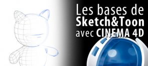 Tuto Sketch and Toon : découverte du rendu dessin Cinema 4D
