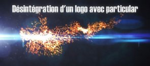 Tuto Désintégration de logo Particular After Effects