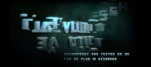 Tuto Décomposition 3D After Effects